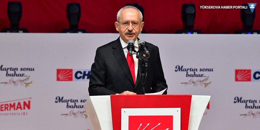 Kılıçdaroğlu: Rakamlar yalan söylemiyor