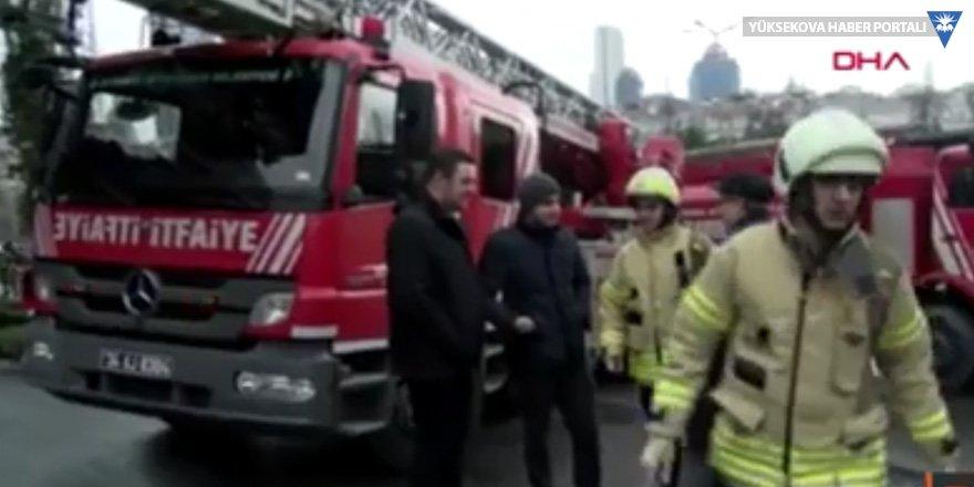 Şişli Belediye binasında yangın