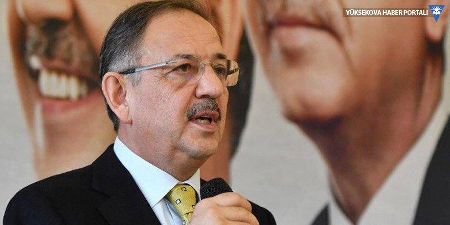Özhaseki: CHP Hitler'in taktiğini tutturdu