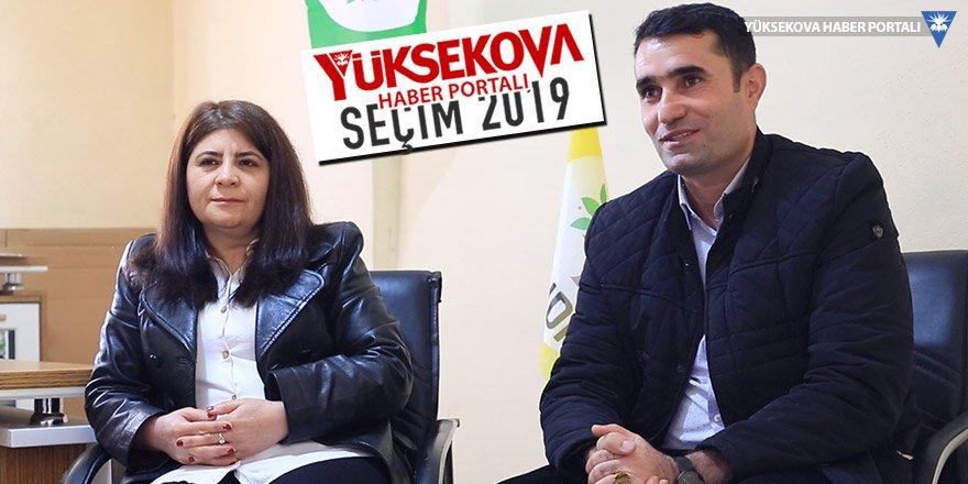 HDP Şemdinli Belediye Eş Başkan Adayları Felem Aker ve Sami Beşer ile söyleşi
