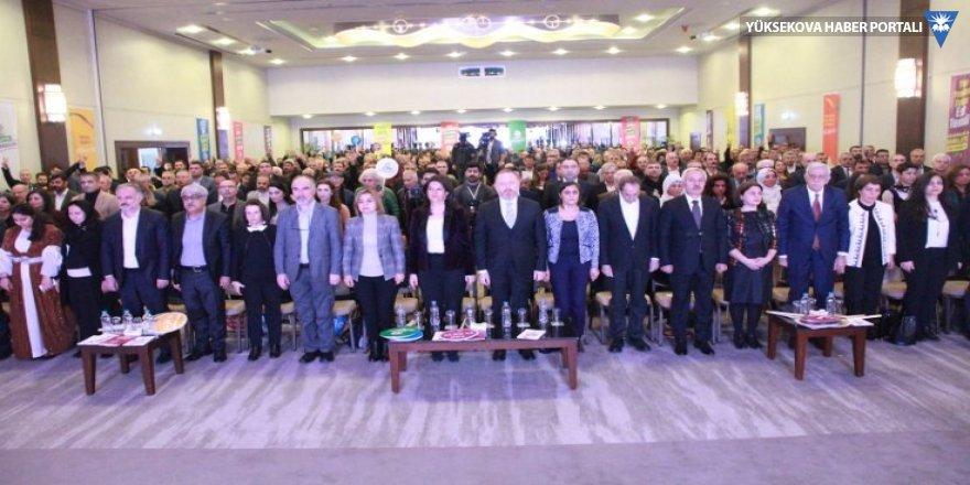 HDP seçim bildirgesini açıkladı: Ya-me-ye diyelim bizim olanı alalım