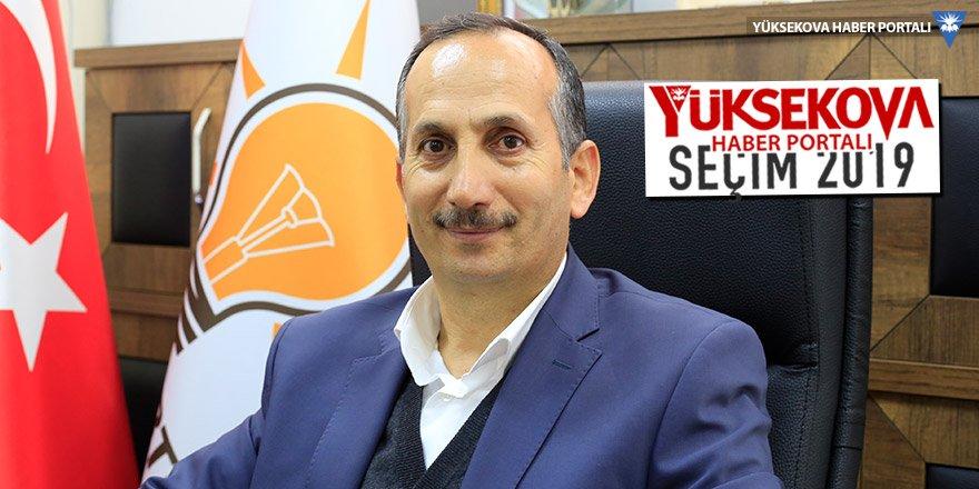 Ak Parti Şemdinli Belediye Başkan Adayı Tahir Saklı ile söyleşi