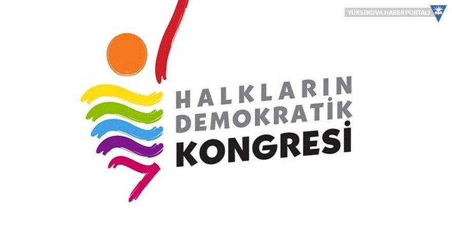 HDK: Tek dil dayatması halkları birbirine düşmanlaştırdı