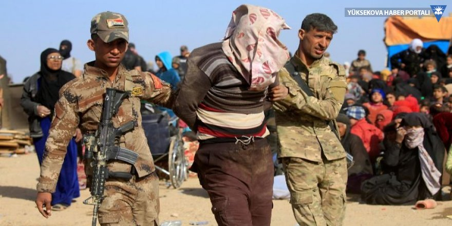 150 IŞİD üyesi Irak ordusuna teslim edildi