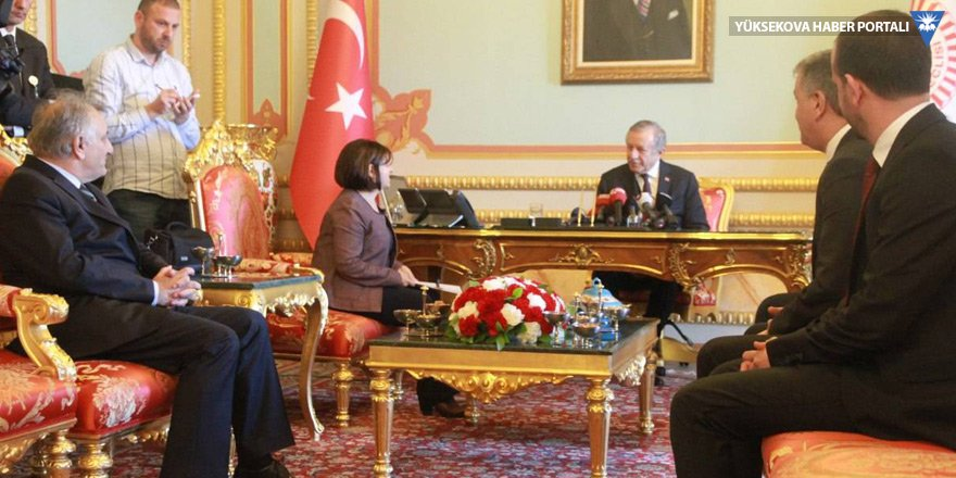 HDP ve AK Parti'nin Meclis başkan adayları başvurusunu yaptı
