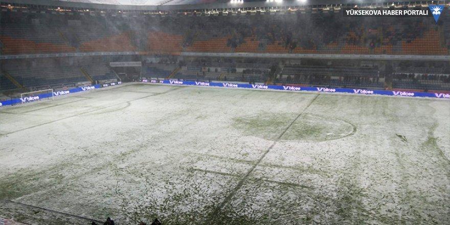 Bursaspor-Başakşehir maçı bu akşam oynanacak