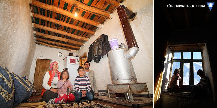 Yüksekovalı Bakır ailesi yardım eli bekliyor