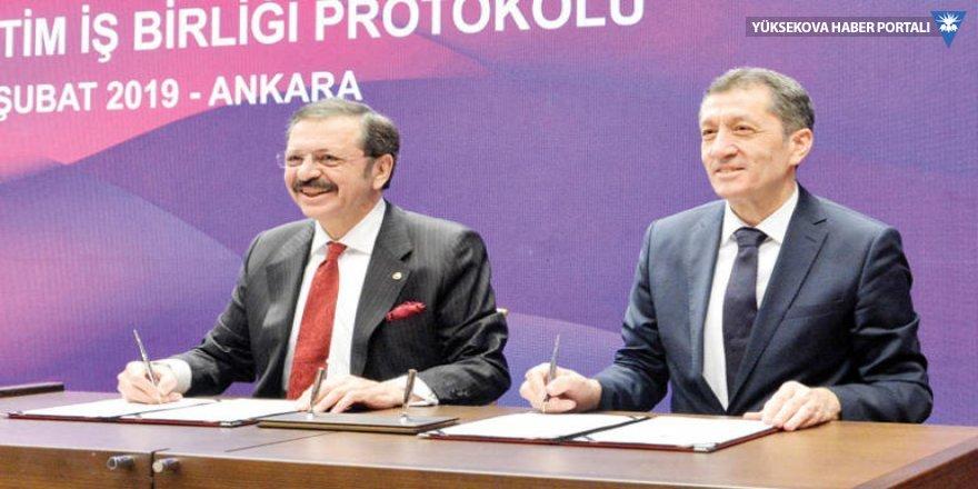 Meslek liselerinde 'özel sektör' dönemi başlıyor; TOBB ile MEB arasında protokol imzalandı