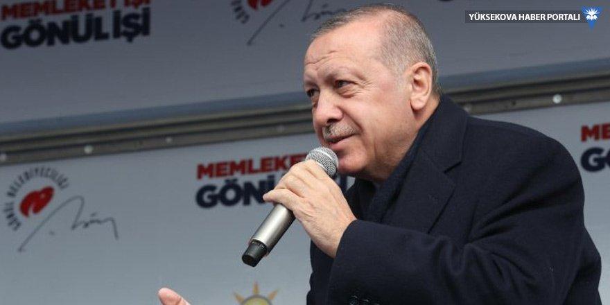 Erdoğan: Sizin keleşleriniz olsa ne yazar?