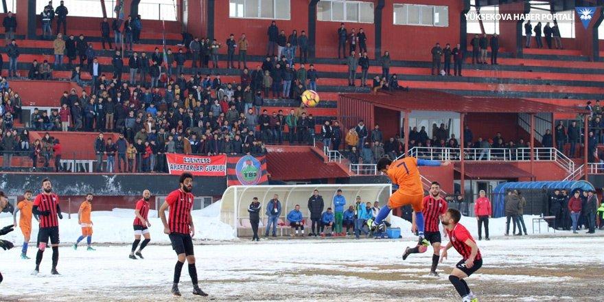 Yüksekova Belediyespor - Ağrı 1970 Spor maçı ertelendi