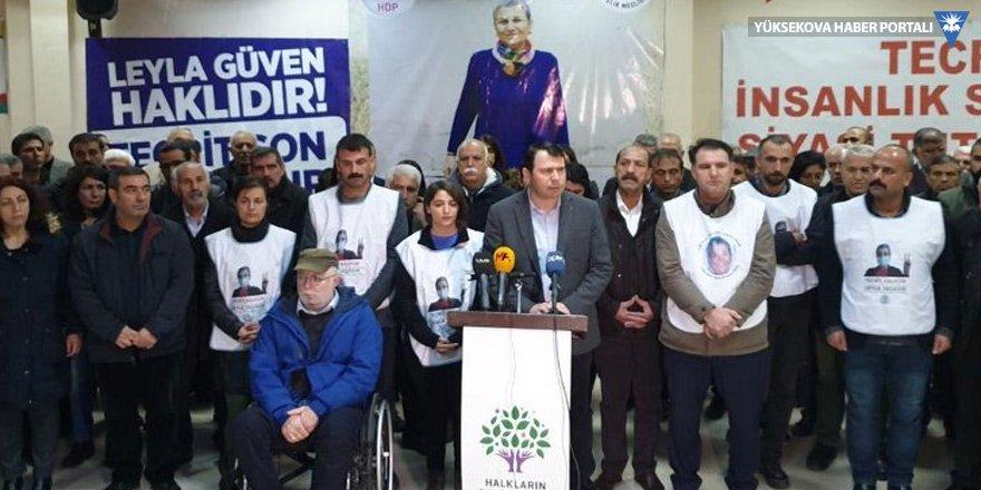 HDP milletvekili Dersim Dağ süresiz açlık grevine başladı