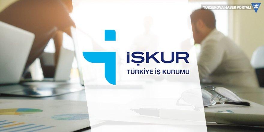 Yüksekova'da İŞKUR kuraları çekildi