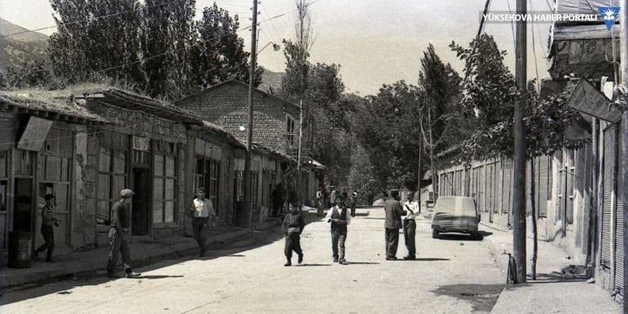 Şemdinli, 1970'li yıllar - Enver Özkahraman arşivinden