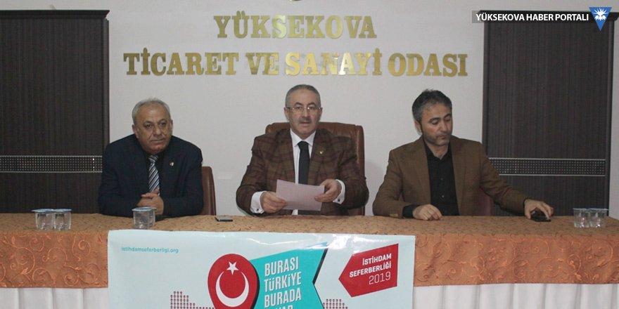 YÜTSO'dan 'istihdam seferberliği' açıklaması