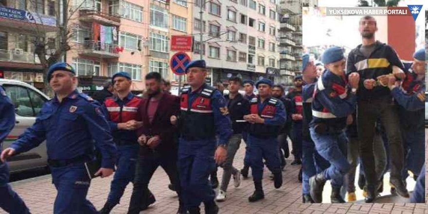 Adliyeye götürülen HDP'li: Halay çektik diye alındık!