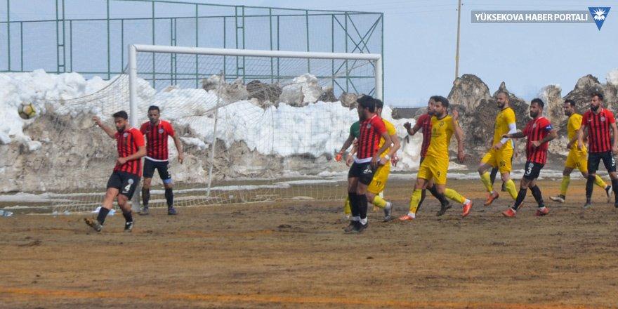 Yüksekova Belediyespor:1 Ağrı Spor:4