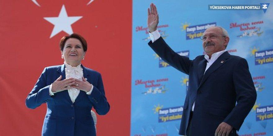 Kılıçdaroğlu ile Akşener'den Balıkesir'de ortak miting