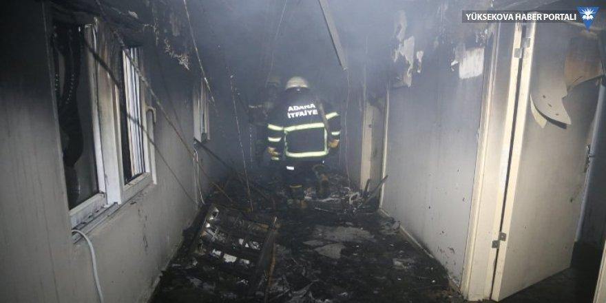 Çukurova Tıp Balcalı Hastanesi'nde yangın
