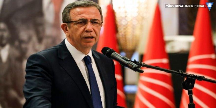 """Mansur Yavaş: """"Her biji Mansur"""" diye duvarlara yazı yazanlardan Ankara adına hesap soracağım"""