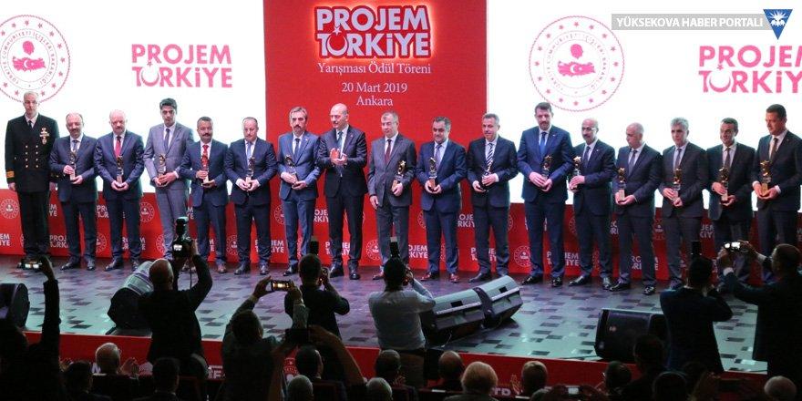 'Yüksekova Yeniden Yapılandırma' projesi ödül aldı