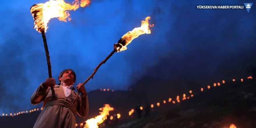 Irak Kürdistan Bölgesinde coşkulu Newroz kutlamaları
