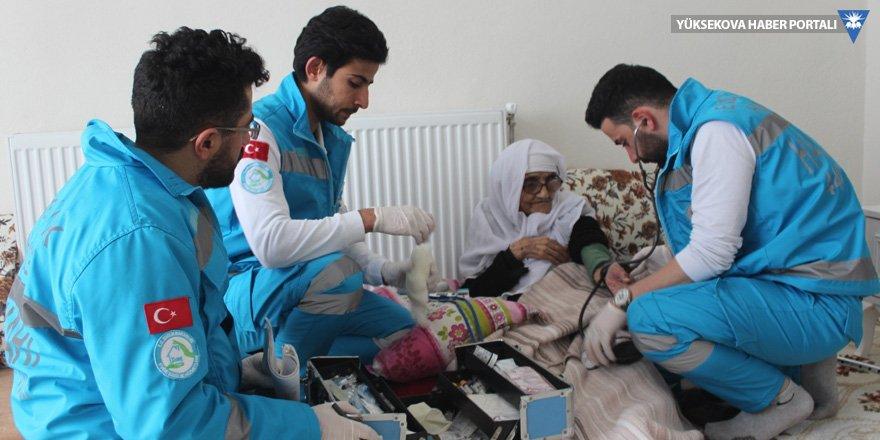 Şemdinli'de evde sağlık hizmeti