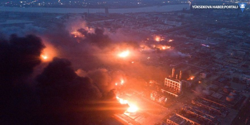Çin'de kimya tesisinde patlama: 47 ölü, 640 yaralı