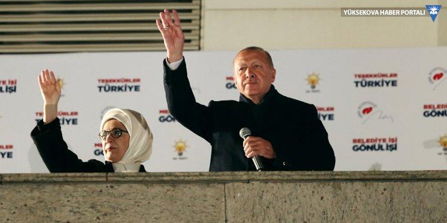 Erdoğan: İstanbul'da halkımız büyükşehiri verse de...