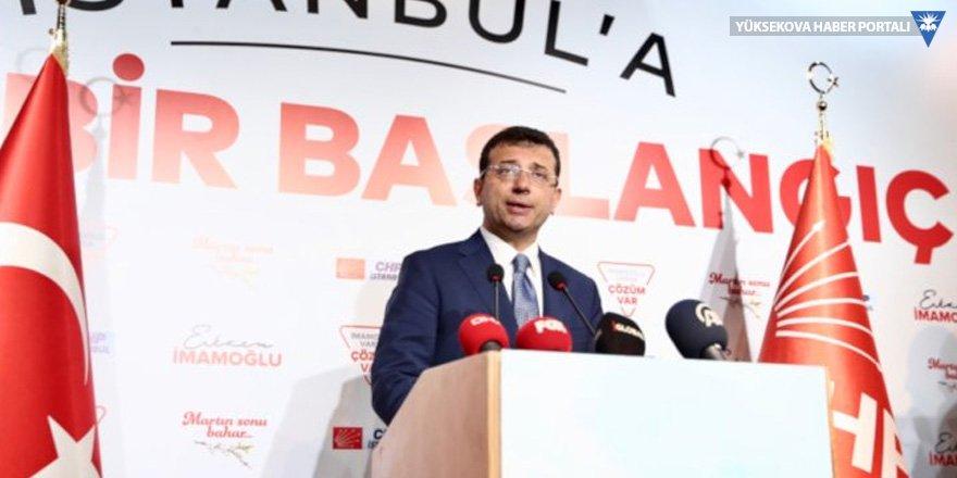 İmamoğlu: AA'nın verisinde de nihayet İstanbul kırmızı renge boyanmıştır