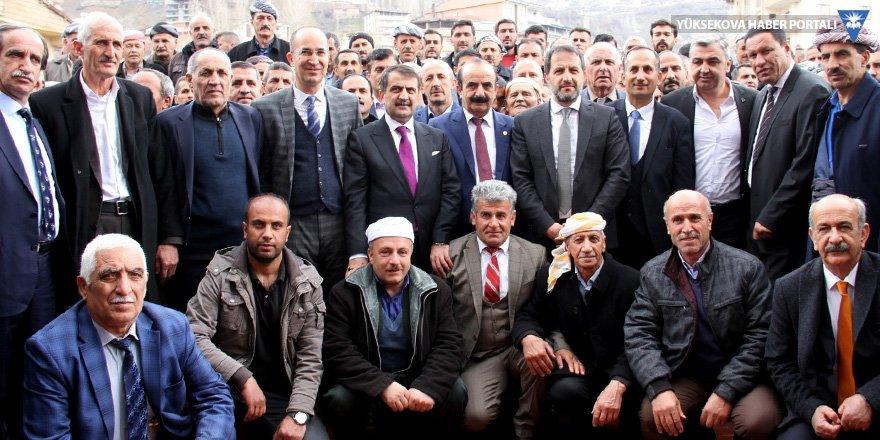 AK Parti'den Tahir Saklı'ya tebrik ziyareti