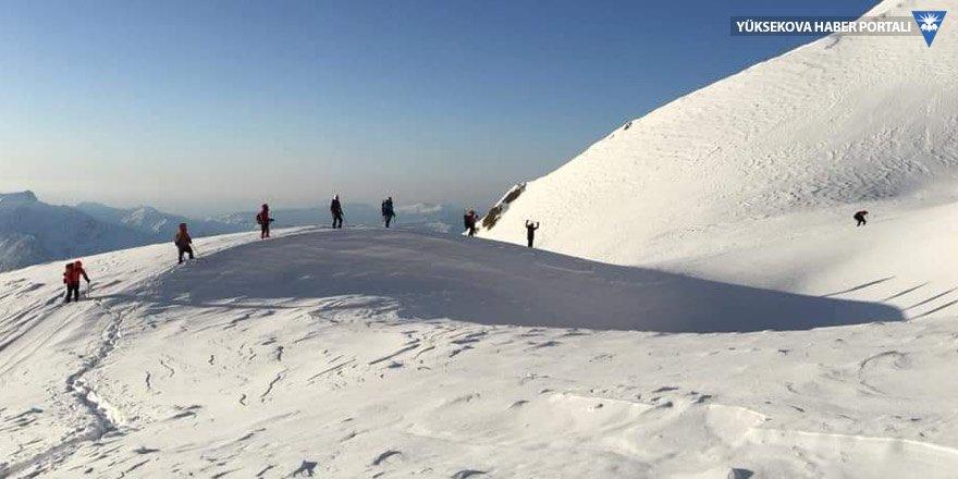Yüksekova: Cilo Dağı'nda zirve yaptılar!