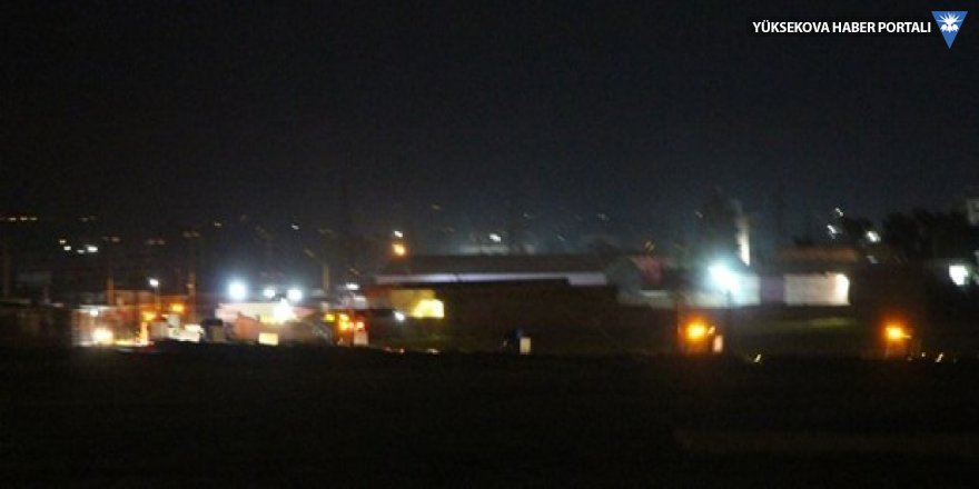 300 araçlık ABD konvoyu Mardin üzerinden Kamışlı'ya geçti