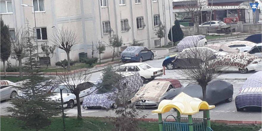 Gaziantep'de dolu önlemi