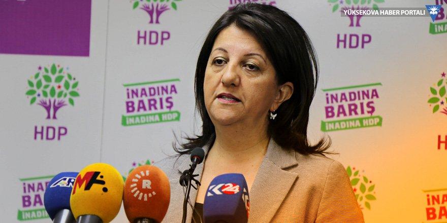 Pervin Buldan: Her yerde barışı haykıracağız