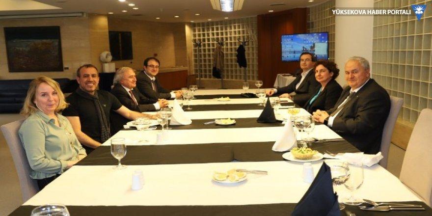 Haluk Levent ODTÜ yönetimi ile görüştü