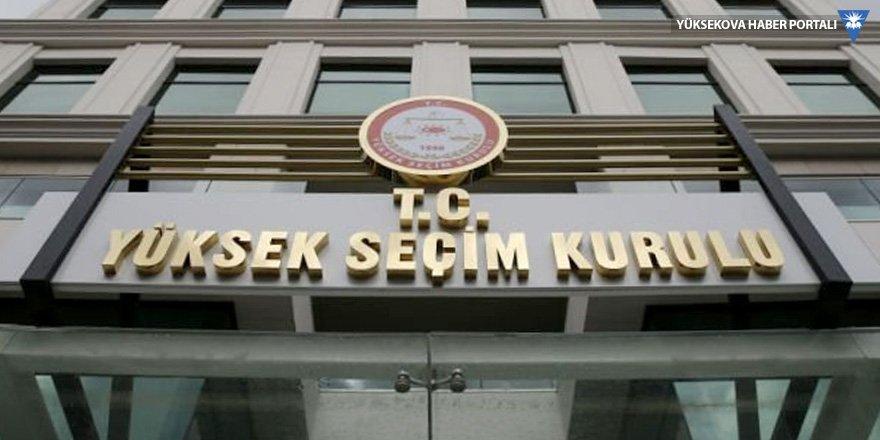 YSK, İstanbul itirazını görüşmeye salı günü devam edecek