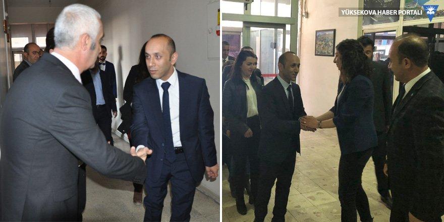 Dede'den Hakkari ve Yüksekova Belediyesi'ne ziyaret