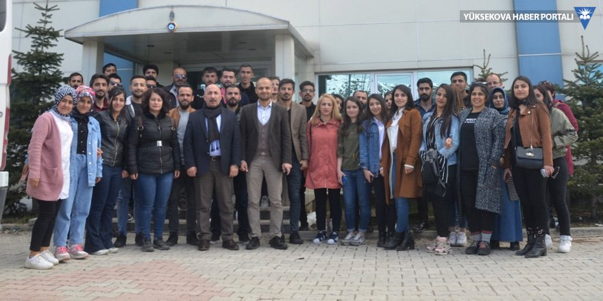 Yüksekova MYO öğrencilerinden fabrikalara teknik gezi!
