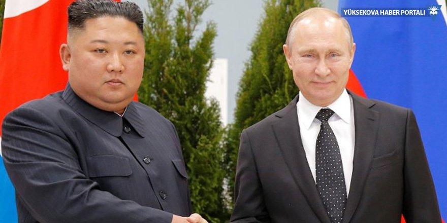 Putin ve Kim'den işbirliği mesajı