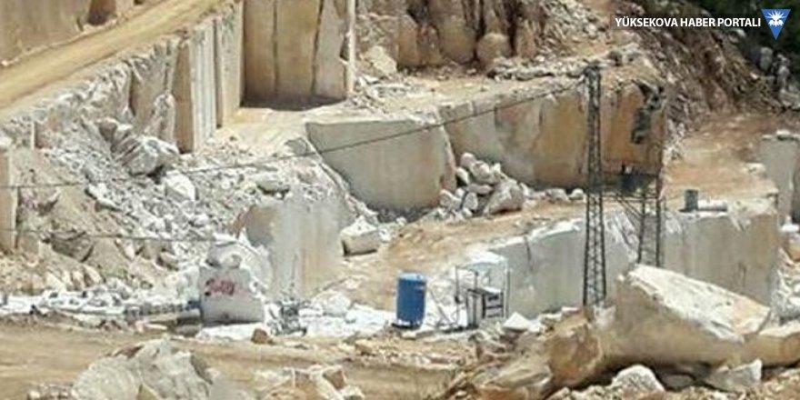 Mermer ocağında göçük: 2 işçi öldü