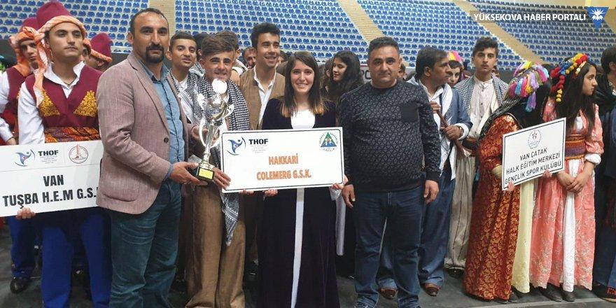 Hakkari takımı, bölge yarışmasında birinci oldu