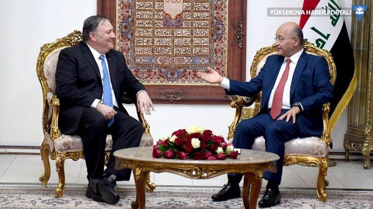 ABD Dışişleri Bakanı Mike Pompeo Bağdat'ta