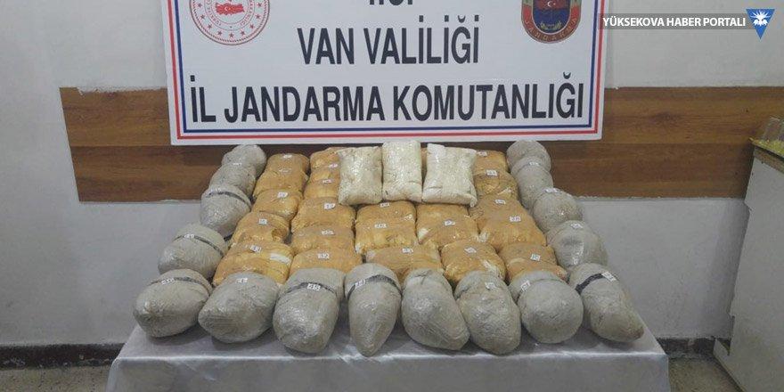 Van'da 43 kilo 200 gram eroin ele geçirildi
