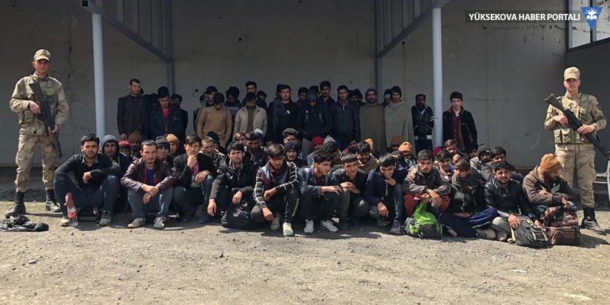 Van'da 106 göçmen yakalandı