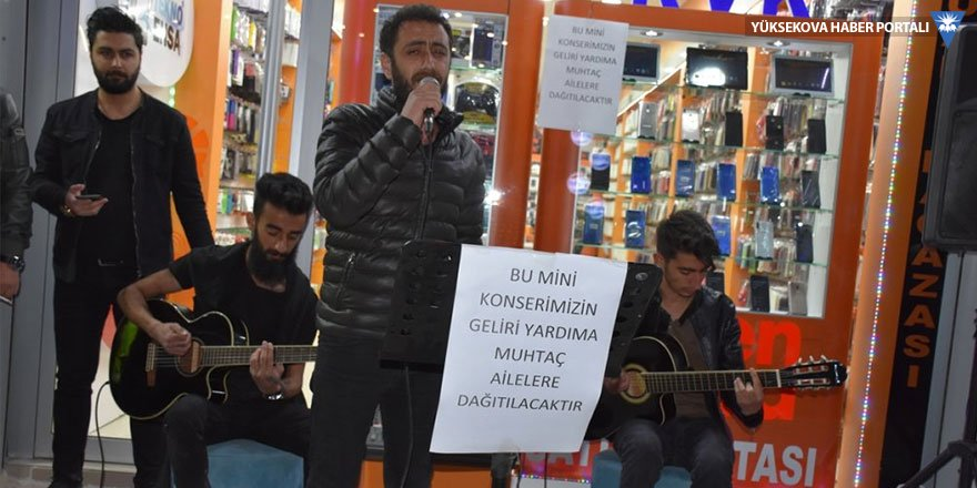 Hakkari'de ihtiyaç sahibi aileler yararına etkinlik