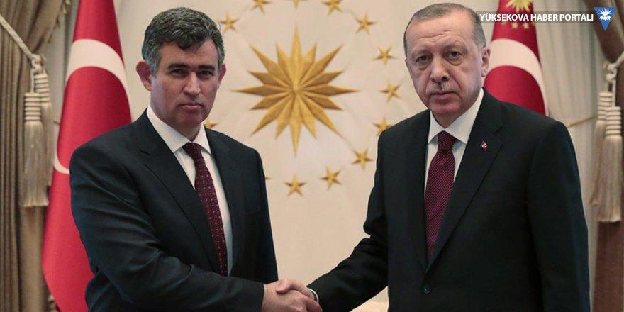 Erdoğan ile görüşen Feyzioğlu açıklama yaptı