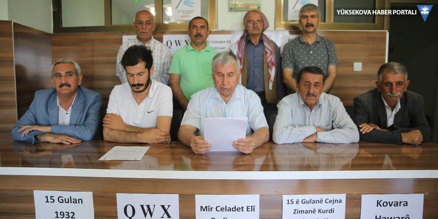 Kürt Dil Bayramı birçok ilde kutlandı