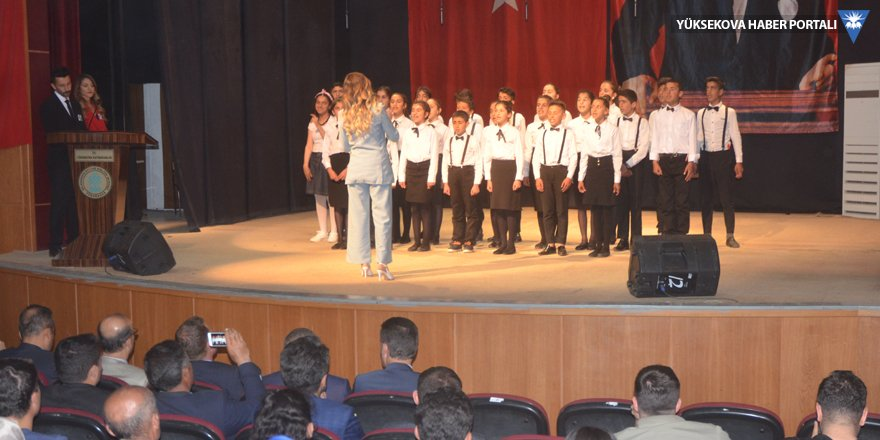 Yüksekova'da 'engelliler haftası' etkinliği