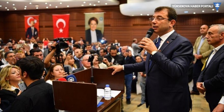 İmamoğlu: Seçilmiş belediye başkanı olarak gezeceğim İstanbul'u