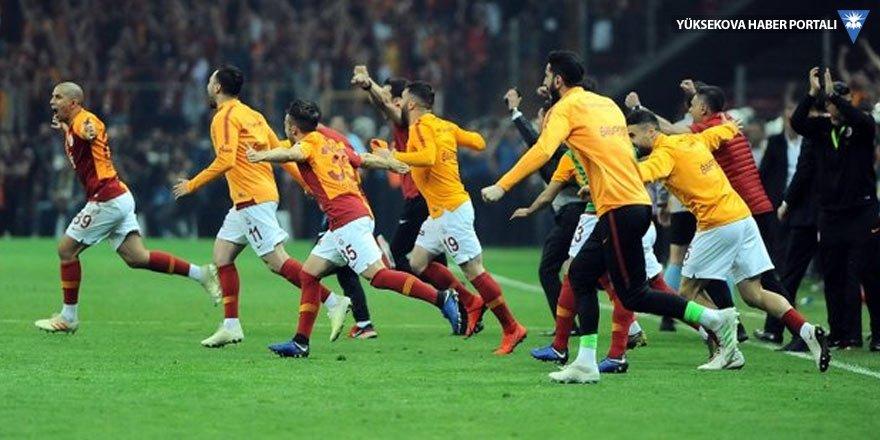 Galatasaray, Başakşehir'i 2-1 yenerek şampiyon oldu